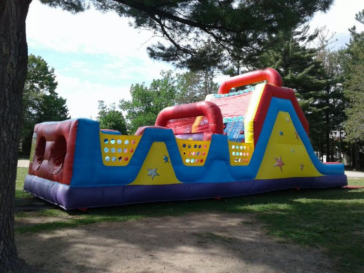 All Star Obstacle Course 40'L x  10'W x 13'H