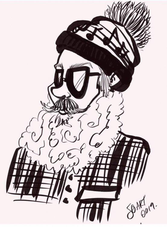 FB IMG 1564526018891 807119434 big Caricature Artist (2 hour minimum required)