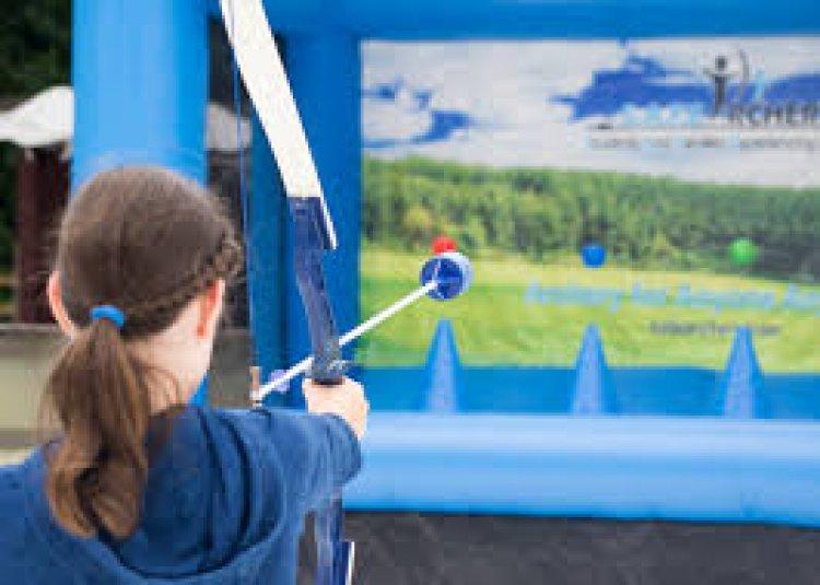Hover20ball2 380842578 big Hover Archery 10'L x 4.5'D x 8'H