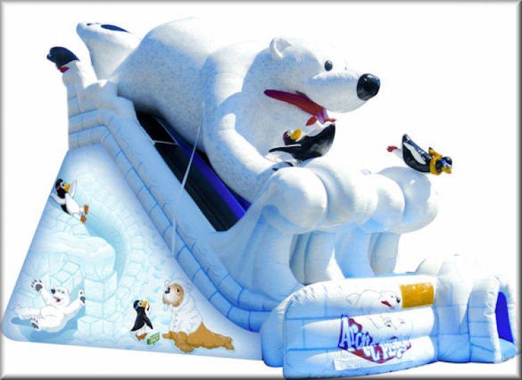 Arctic Plunge Slide 30'L x 22'W x 20'H