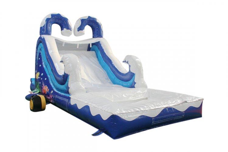 Ocean Slide wet/dry 20'L x 9'W x 13'H