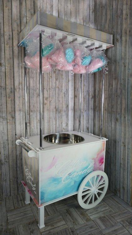 Fancy Cotton Candy Cart