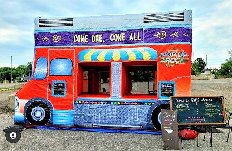 Food Truck 16.5x8x11.5